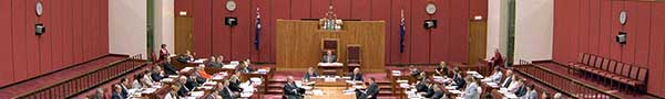 Information on the role and work of the Senate