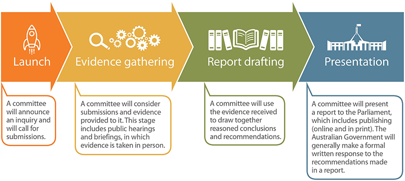Infographic of the inquiry process