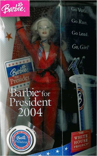 Figure 2: Barbie for President 2004 doll