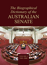 The Biographical Dictionary of the Australian Senate Volume 3
