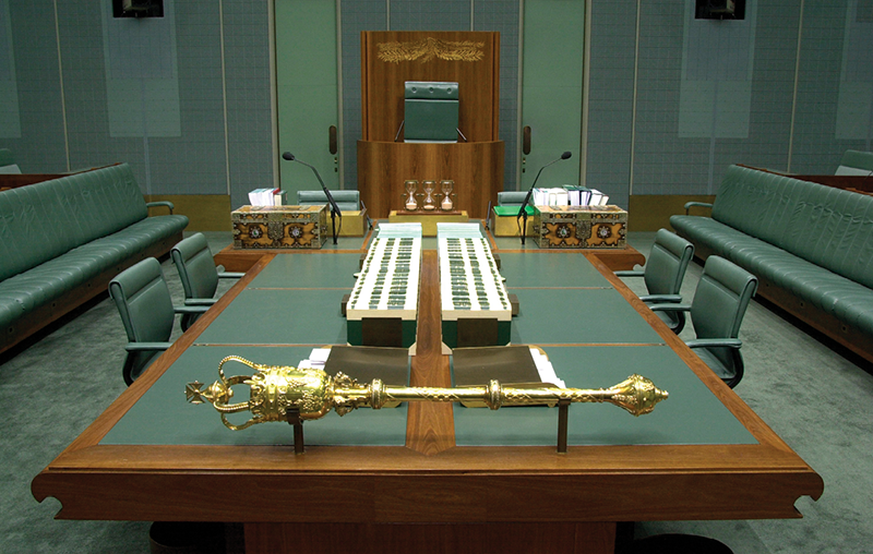 House of Representatives chamber.