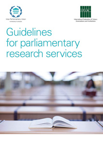 Guidelines for parliamentary research services publication