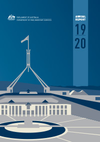 Department of Parliamentary Services 2019-20 Annual Report cover