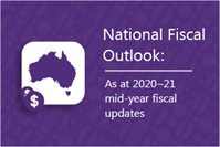 carousel photo Parliamentary Budget Office releases National fiscal outlook: As at 2020 21 mid-year fiscal updates
