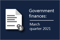 carousel photo Parliamentary Budget Office releases Government finances – March quarter 2021 publication