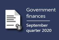carousel photo Parliamentary Budget Office releases Government finances: September quarter 2020 publication