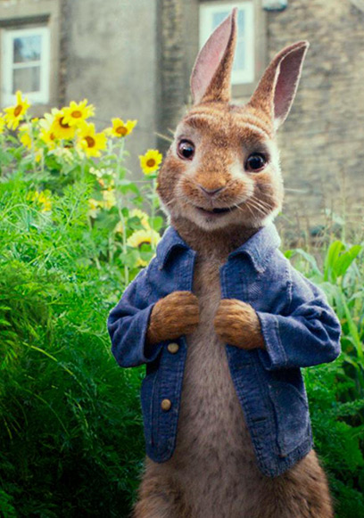 Summer screenings: Peter Rabbit (PG)