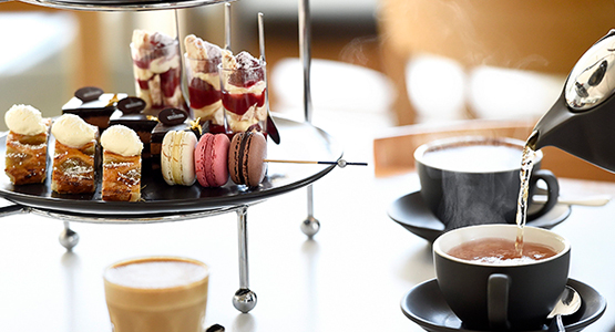Sweet treats from the Queen's Terrace Cafe High Tea