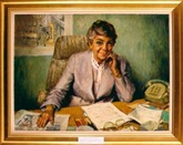The Hon. Joan Child, 1988 by Charles William Bush (1911‒1989)