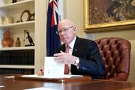 The Governor-General receives the first bill for his assent.