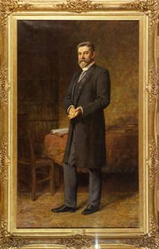 The Hon. Alfred Deakin, 1914 by Frederick