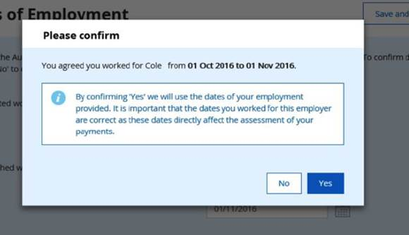 Employment Income Confirmation
