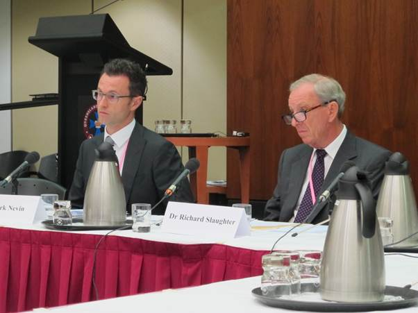 Mr Mark Nevin, Senior Executive Officer, and Dr Richard Slaughter, cardiovascular and thoracic radiologist, Royal Australian and New Zealand College of Radiologists appeared at the committee's hearing in Brisbane on 7 March 2016