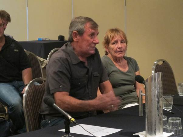 Mr Keith Stoddart and Mrs Danielle Stoddart appeared at the committee's hearing in Mackay on 8 March 2016