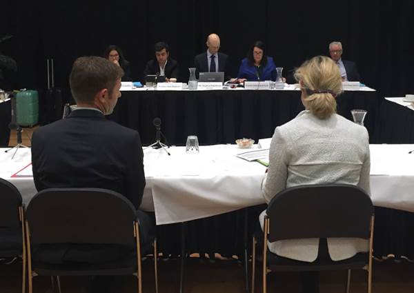 Mrs Neroli Ellis, Branch Secretary, and Mr Shane Rickerby, State, North and North-West Organiser Coordinator from the Australian Nursing and Midwifery Federation (Tasmanian Branch) spoke at the committee's hearing in Devonport on 29 April 2016.