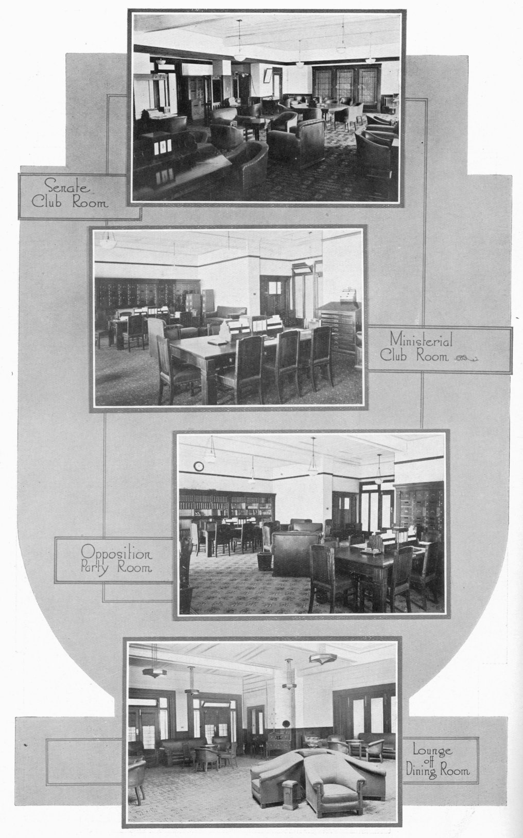 Australian Parliament House Design: As It Was In The Beginning (Parliament House In 1927