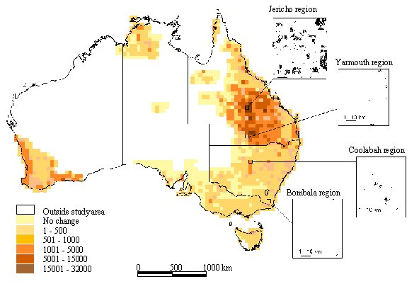 land degradation a sprawling problem in australia Soil degradation is a global problem caused by many factors including  grazing  or crop residue removal, deforestation, mining, construction and urban sprawl   the australian national soil research, development and extension strategy.