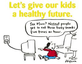 Marketing Obesity Junk Food Advertising And Kids  Parliament Of  Influencing Childrens Thinking