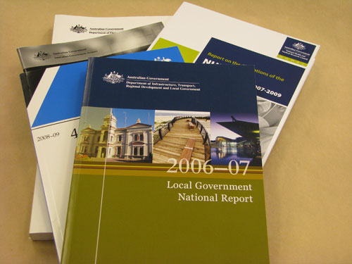 Selection of government documents