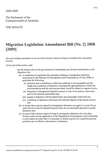 An amendment to the motion 'That this bill be now read a second time', also sometimes referred to as a 'pious amendment'