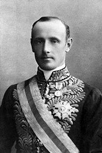 The Earl of Hopetoun, first Governor-General of the Commonwealth of Australia, to whom President Baker wrote suggesting a form of words for the Royal Assent (Source: National Library of Australia)