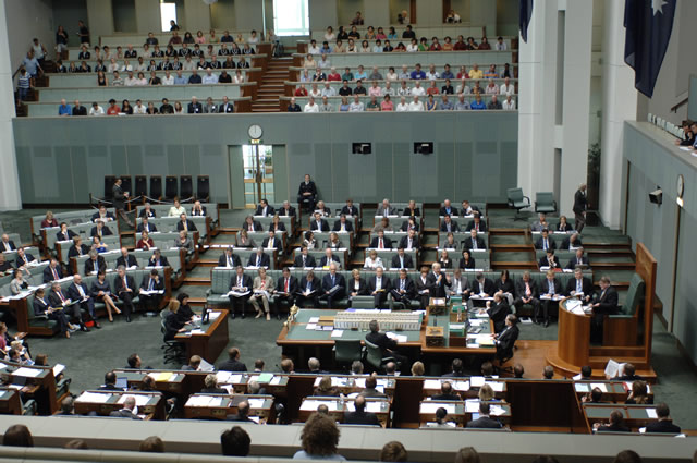 SO 193 protects members of other Houses against unparliamentary remarks (Photo courtesy of AUSPIC)
