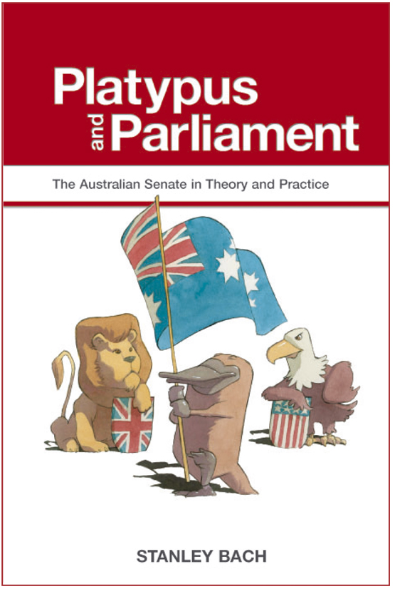 Front cover for Platypus and Parliament book