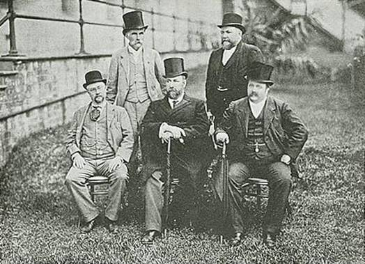 The Five Premiers. Courtesy of the National Library of Australia