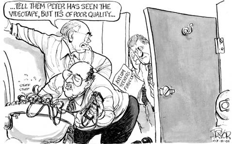 Geoff Pryor, Canberra Times, 8 November 2001