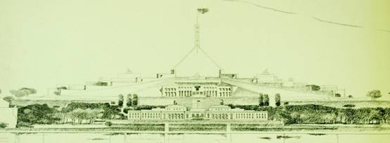 Figure 13: Elevation, Mitchell/Giurgola and Thorp (177 US), National Archives of Australia, A8104, 177