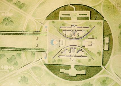 Figure 14: Site Plan, Mitchell/Giurgola and Thorp (177 US), National Archives of Australia, A8104, 177