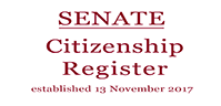 carousel photo Senate Citizenship Register