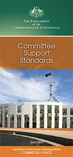 Thumbnail of Support Standards brochure cover