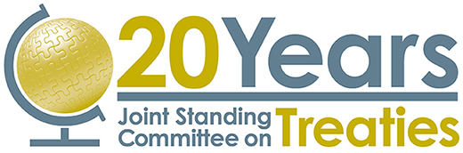 Treaties 20th Anniversary logo
