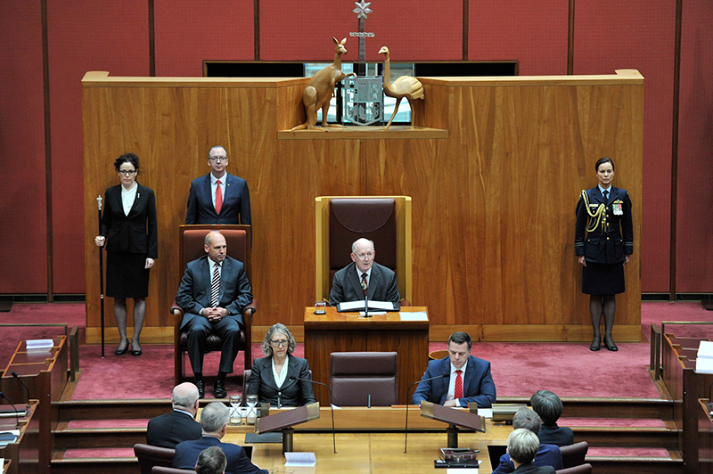 opening of the 45th parliament parliament of australia