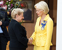 The Governor-General and the Speaker, the Hon Bronwyn Bishop MP.