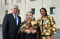 Thumbnail image: Ken Wyatt MP, Matilda House and Senator Nova Peris.