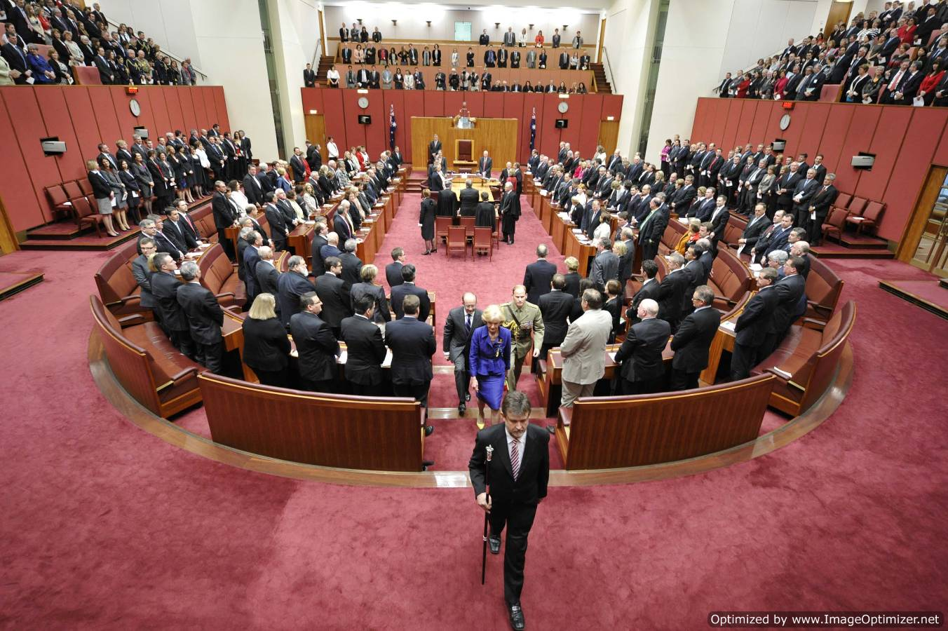 The opening of Paliament on 28 September 2010