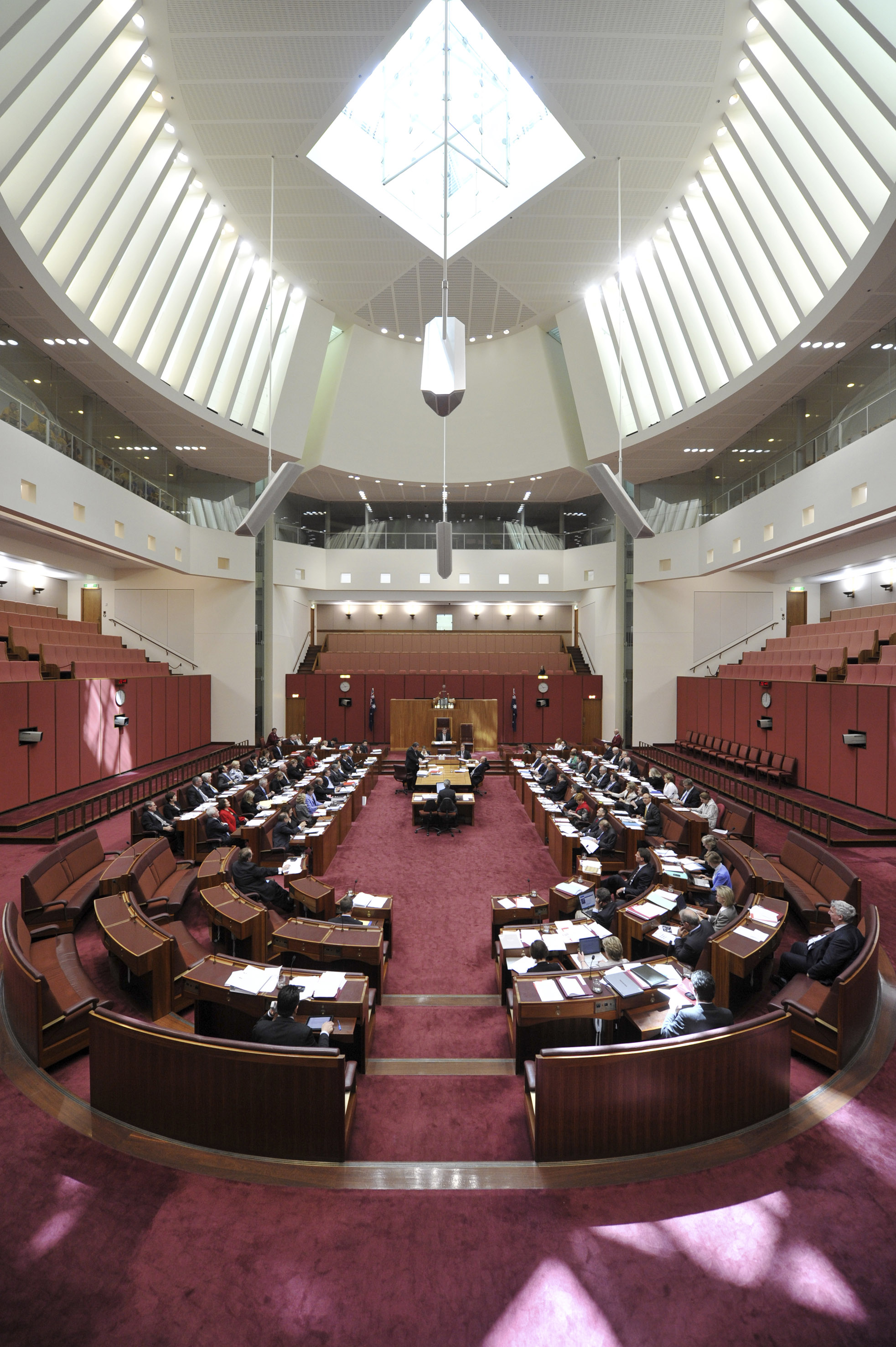 Senate Question Time Chamber, by AUSPIC
