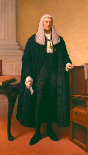 Senate Brief No. 6 - Sir Richard Baker, first President of the Senate