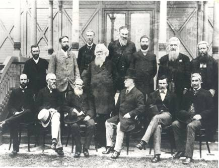 Delegates to the Australasian Federation Conference, Melbourne, 1890