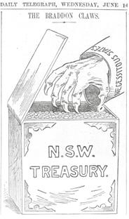 Cartoon from historic edition of the Daily Telegraph