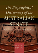 The Biographical Dictionary of the Australian Senate Volume 2