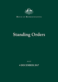 Standing Orders Cover image