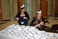 Thumbnail image: The Parliament hats were a hit