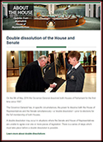 About the House e-newsletter