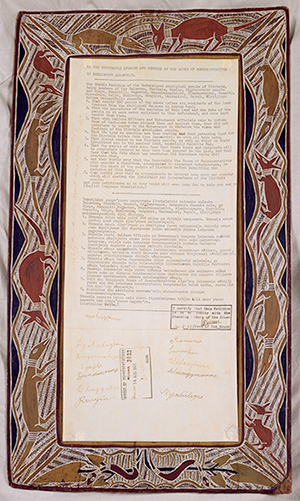 Yirrkala Petition, 14 August 1963