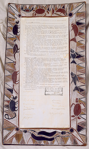 Yirrkala Petition, 28 August 1963