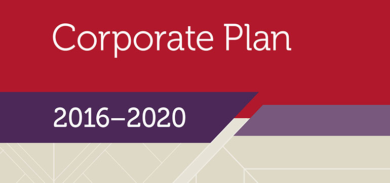 Cover Corporate Plan