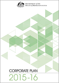 Corporate Plan 2015-16 cover image